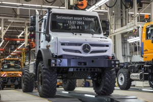 Launch of series production of new extreme all-terrain Mercedes-Benz Unimog