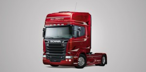 Naujieji Scania Red Passion kaitina aistras