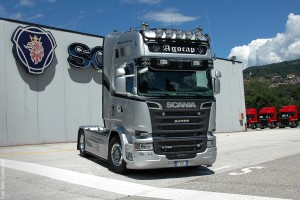 Scania R 730 V8 Streamline – legendos gimimas