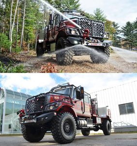 Bulldog Extreme Firefighting Truck