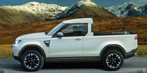 Land Rover Defender taps pikapu