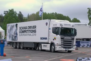 Prisimenant Scania Driver Competition